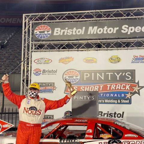 Noles and Brock headline winners at Pintys U.S. Short Track Nationals Read story bit.ly/2G5XKq6 #ItsBristolBaby #PitnysShortTrackNats