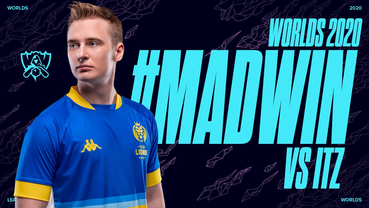 THE @MADLions_LoLEN ADVANCE TO THE PLAY-IN KNOCKOUT STAGE! #Worlds2020 https://t.co/eMXVuCa7dY