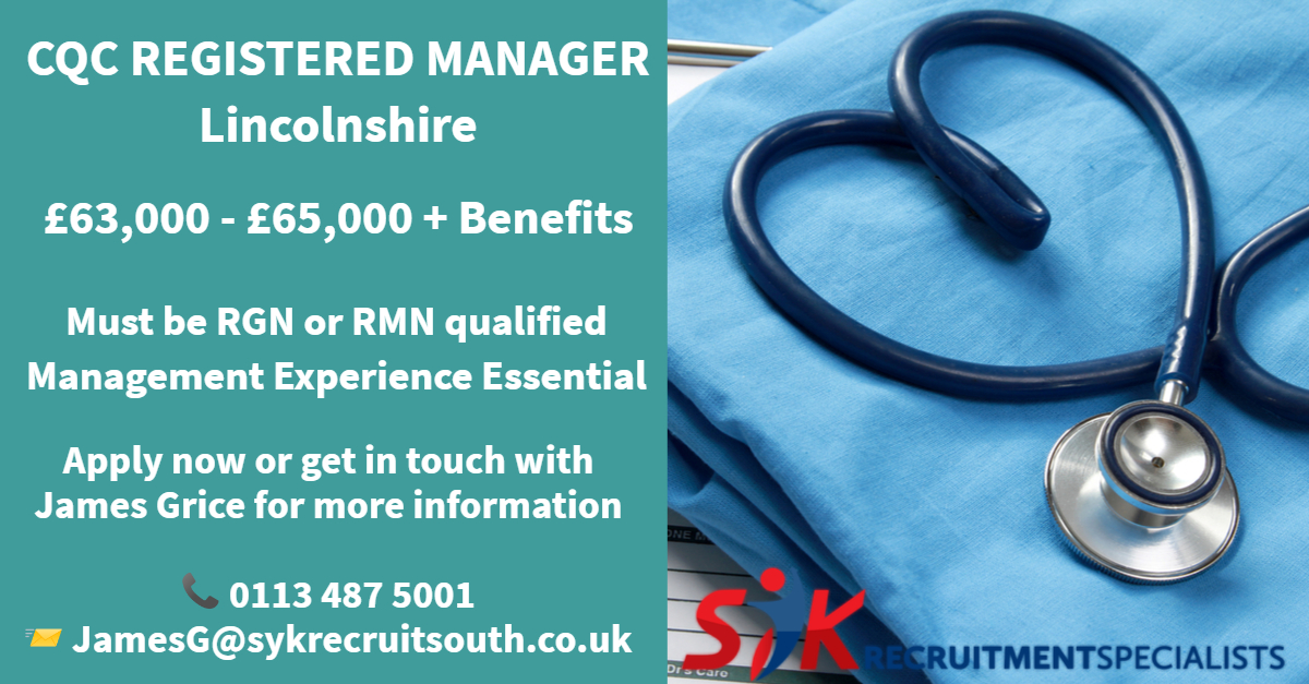 🔴 Latest #Job! 🔴  👨⚕️👩⚕️ #Nurse #RegisteredManager 🌎 #Bourne #Lincolnshire  For more info & to apply contact James 📞0113 487 5001 📨 jamesg@sykrecruitsouth.co.uk 💻   https://t.co/YZJeXOZhsR  #Nurses2020 #NursesNow  #Recruitment #Hiring #Lincs https://t.co/pUIpiw4yZV