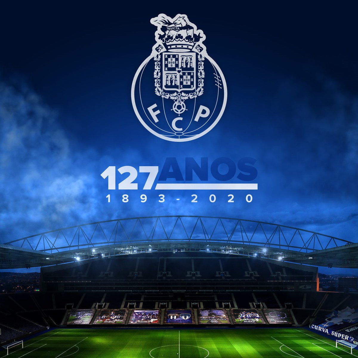 Felicidades @FCPorto pelos 127 anos de História! 127 anos de vitórias sem igual.... Porto, Porto, Porto 🔵⚪️ #FCPorto127 #NaçaoPorto https://t.co/k3bxc3lfK7