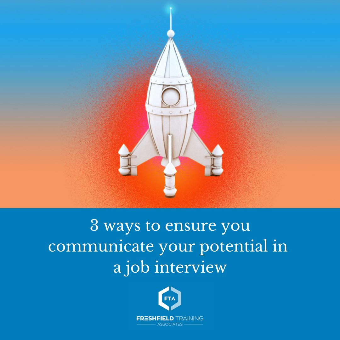 Having potential and being able to communicate that potential are two different things. Here's how to get your potential to shine through in your next job interview.  Read more: https://t.co/0bbkRy11HM https://t.co/6pJNQPLEEM