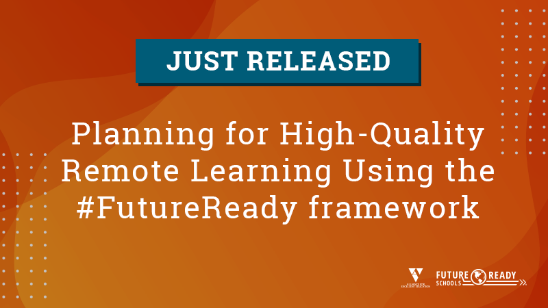 Just Released! The #FutureReady planning guide for high-quality #remotelearning. Explore the guide for ideas, best practices, and practical considerations for addressing the unique challenges we currently face.  https://t.co/hb1WhyeEuN https://t.co/wuXlIAob33