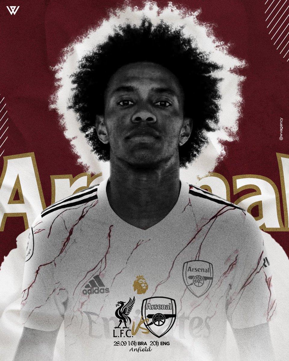 MATCHDAY! 💪 Liverpool x Arsenal ⚽️ Premier League 🏆 Anfield 🏟 20h 🇬🇧 16h 🇧🇷  #premierleague #arsenal #LIVARS #W12 #gunners