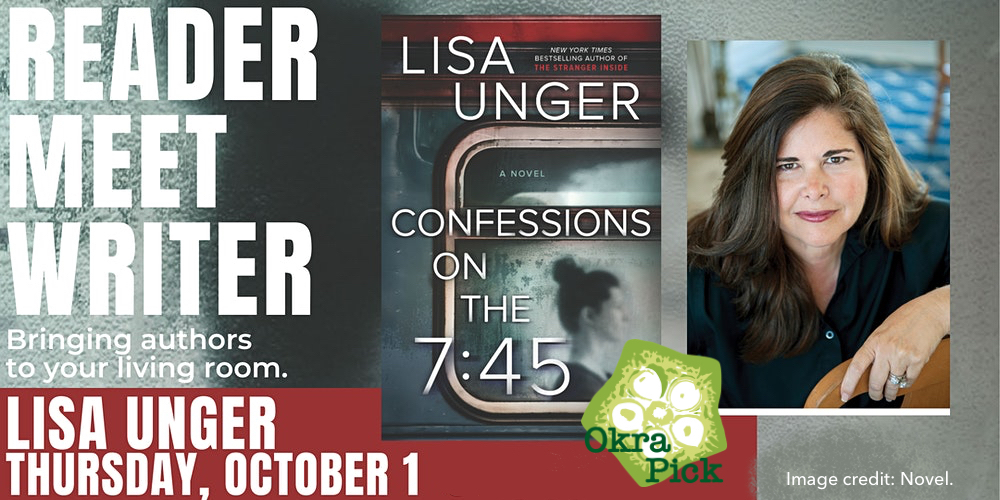 Cant wait to see you this Thu. at 7pm ET/6pm CT! Ill be on @SIndies READER MEET WRITER, co-hosted by tons of amazing booksellers like @Malaprops @FictnAddictn @novelmemphis @eagleeyebooks and more! Visit lisaunger.com/events for the full list and links.