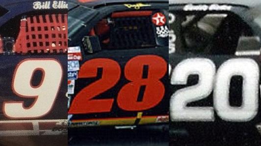 🏁 Todays NASCAR date is: Bill Elliott / Davey Allison / Buddy Baker
