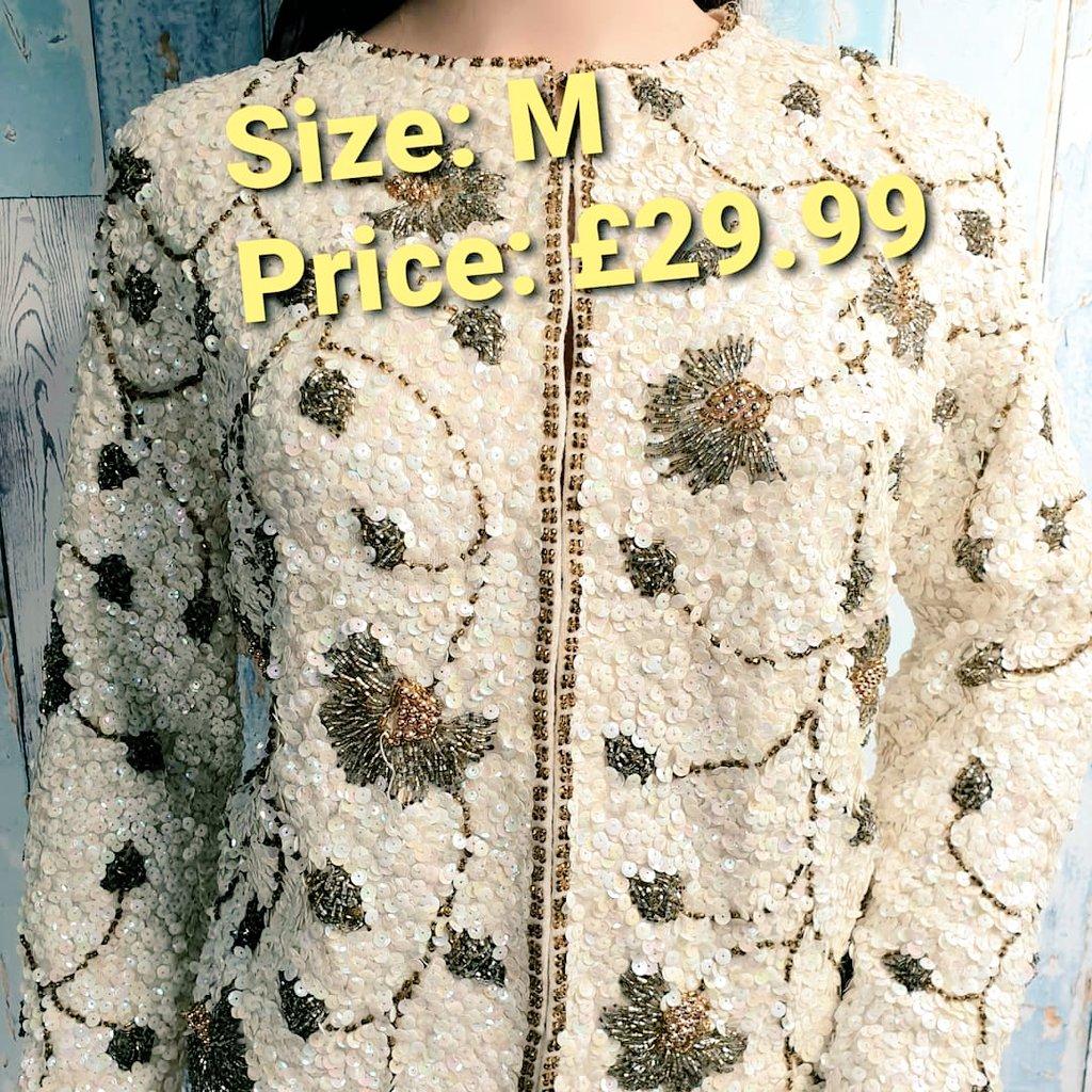 Vintage Sequin Tops added to store today.  #vintage #SecondHandSeptember #vintagestyle #vintagefashion #plussizefashion #slowfashion #SmallBusiness #SupportSmallBusinesses https://t.co/S6SfLPmZPS