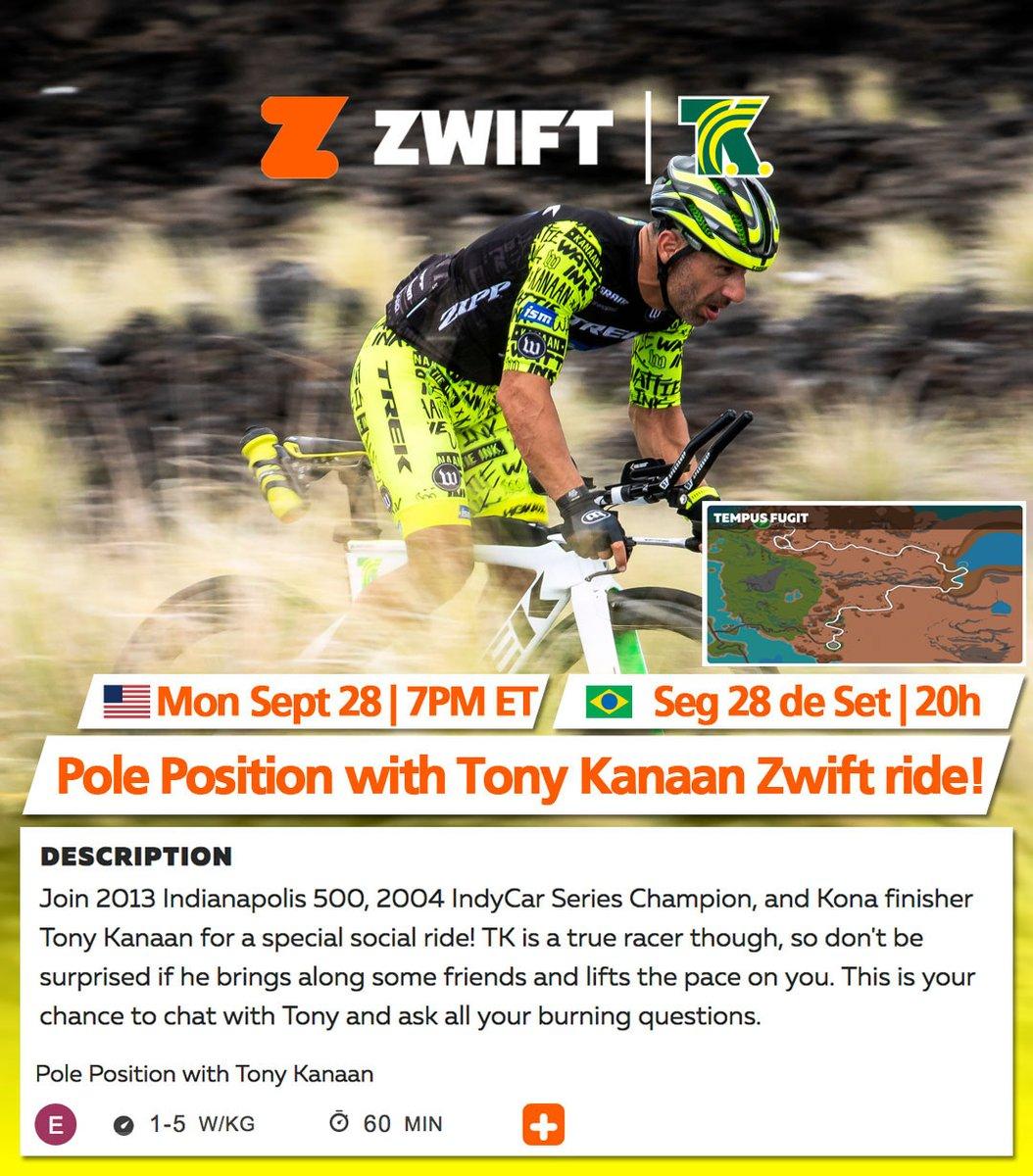 🇧🇷 🗓 ⏰ ➡️ Segunda é dia de pedal no @GoZwift! Vamos lá, hoje, 20h do 🇧🇷 tem nosso ride no @GoZwift @GoZwiftTri. Encontre o ride no Companion app ou pelo 👉🏻 https://t.co/qZ9yDqbYGh #GoZwift https://t.co/uGVFexVG7f