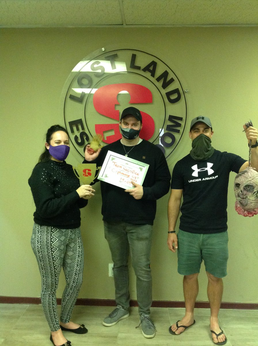 "Team' Sacrifice""managed to escape the haunted orphanage in 59 minutes #orphanage👩‍👩‍👦‍👦🗝️🏆👩‍👩‍👦‍👦👽 https://t.co/jMxfW7AThm"