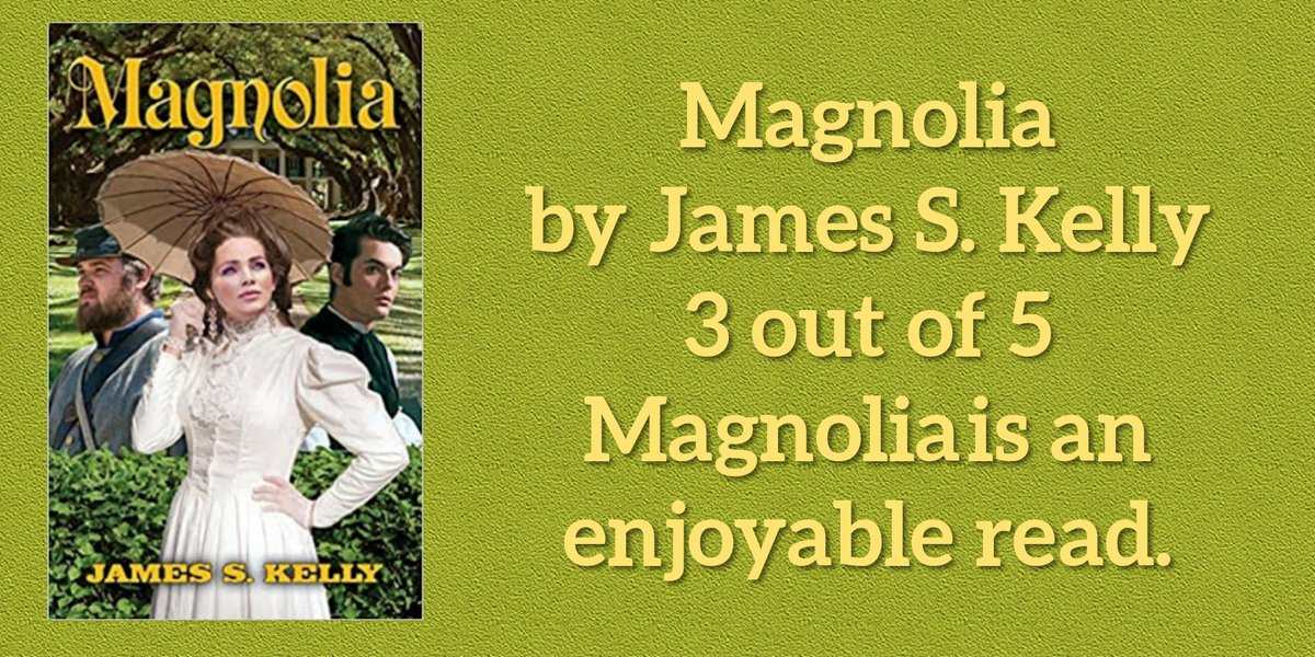 Review: Magnolia by James S Kelly   3 out of 5 Magnolia is an enjoyable read.  Read my full review on my blog: https://t.co/H434x6vHlW  #bookreview #bookstagram #reading #bookworm #booklover #bookish https://t.co/FzTlZP4lj4