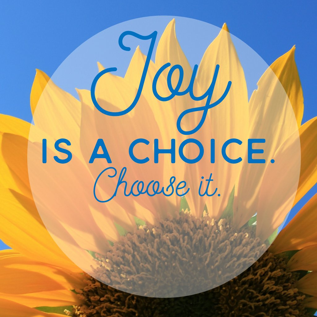 Happy Monday friends! Have a great week. Choose Joy!