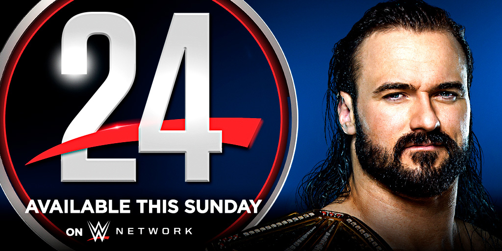 𝗪𝗪𝗘 𝟮𝟰: 𝗗𝗿𝗲𝘄 𝗠𝗰𝗜𝗻𝘁𝘆𝗿𝗲 - 𝗧𝗵𝗲 𝗖𝗵𝗼𝘀𝗲𝗻 𝗢𝗻𝗲 streams your way this Sunday on WWE Network.   @DMcIntyreWWE https://t.co/ZxsMHxv2Xy