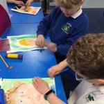 Image for the Tweet beginning: Children in Class 2 put