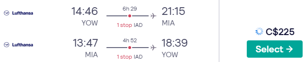 Ottawa, Canada to Miami, USA for only $225 CAD roundtrip (Feb-Jun dates) https://t.co/nApNxFiTj3 #travel #Flight #deals  https://t.co/6pIrPFqaM3 https://t.co/a7ayMiDa4L