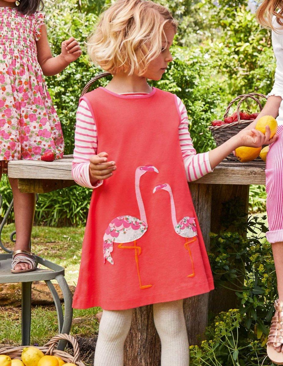 Gorgeous flamingo applique girls dress - 30% off #flamingo #fashion #sale #ad  Buy here: https://t.co/5nIrUHeHLu https://t.co/VCHSD63DDk