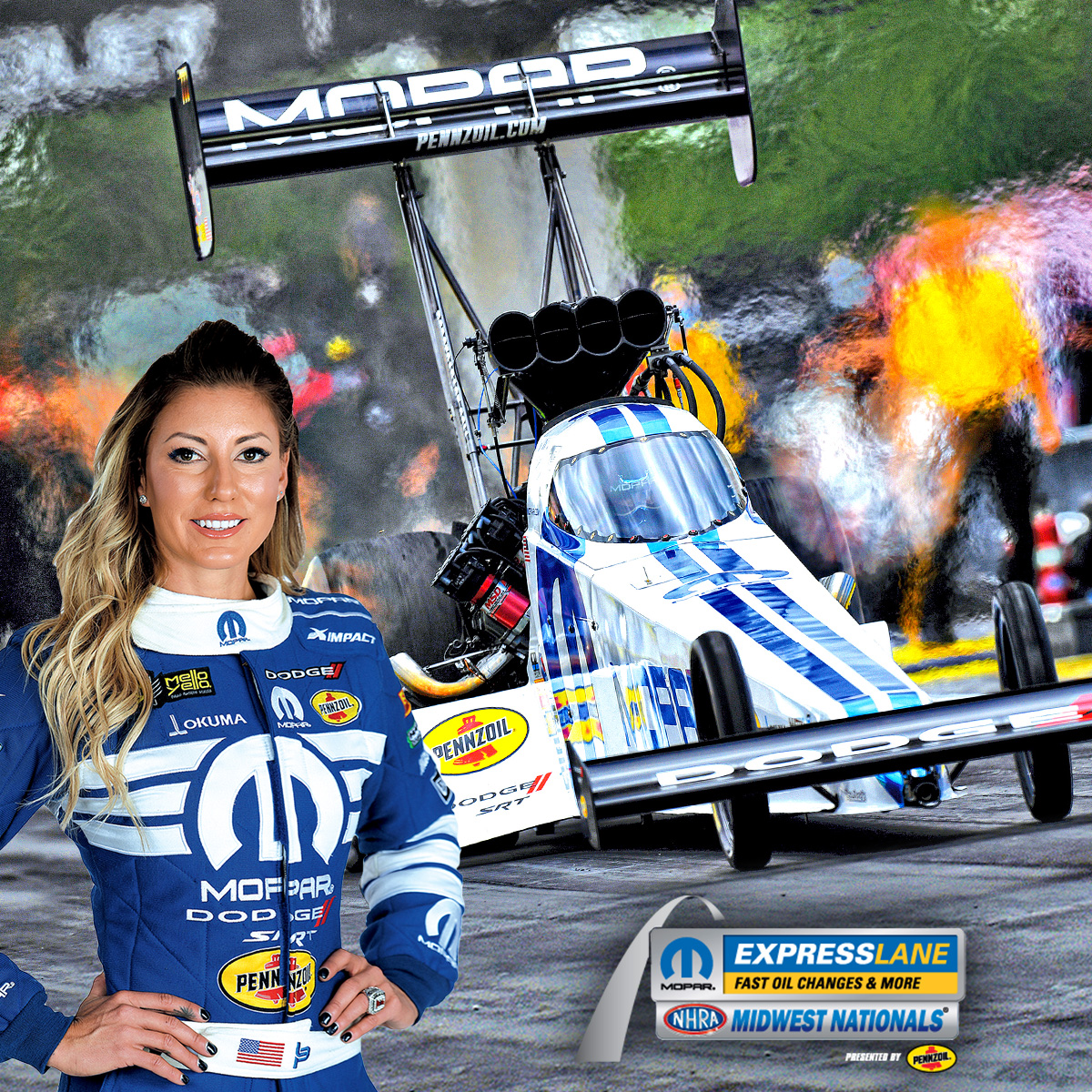 Here's the tweet you've all been waiting for...  IT. IS. RACE WEEK.   The @OfficialMOPAR Express Lanes @NHRA Midwest Nationals presented by @Pennzoil is THIS WEEKEND, October 2-4.   Purchase your tickets now to guarantee admission!   🎟: https://t.co/Er8EzCiiId https://t.co/LAbXFTiri9