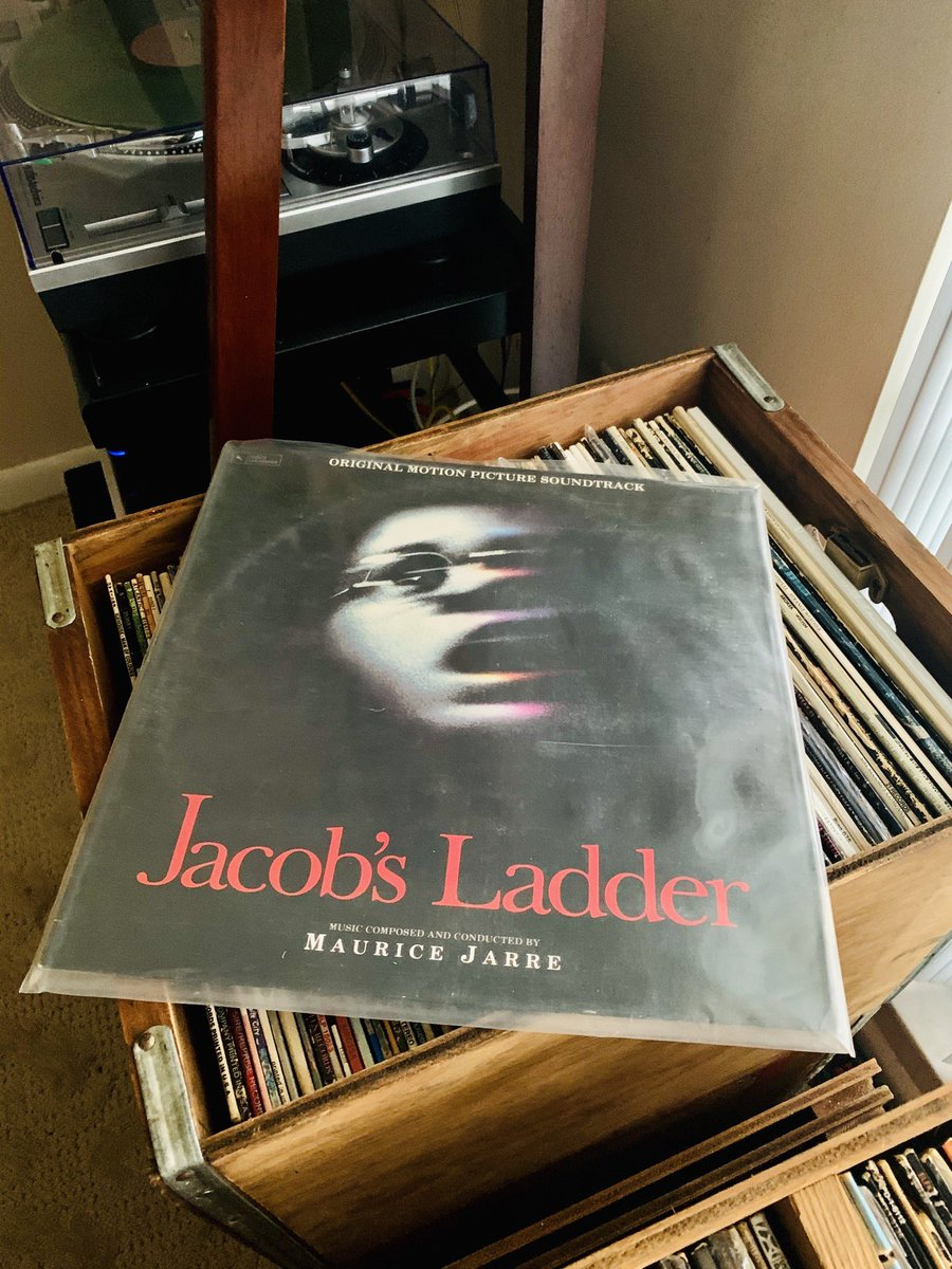 In 1990 two genre defining films were released. Both were initially misunderstood then later lauded. Both with singularly brilliant soundtracks. Just received both rare vinyl copies! #JacobsLadder #Hardware https://t.co/eAotZLWdgp