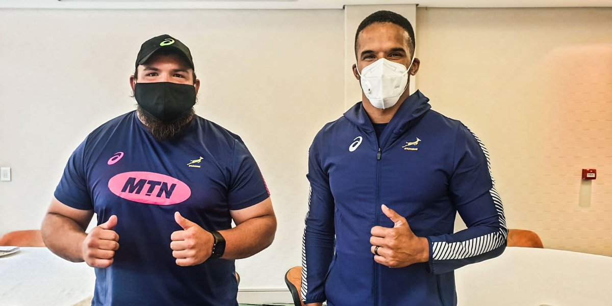 🚑 Injury news from the Green and Gold squads in CT 🏉 Call ups for Skosan, Sadie and Zwelendaba 🗣️ There won't be a specific game plan, so it won't be a Bok blueprint imprinted in the players' minds 🔗 Full story here: bit.ly/3cDhYTP #StrongerTogether #ChasingTheSun