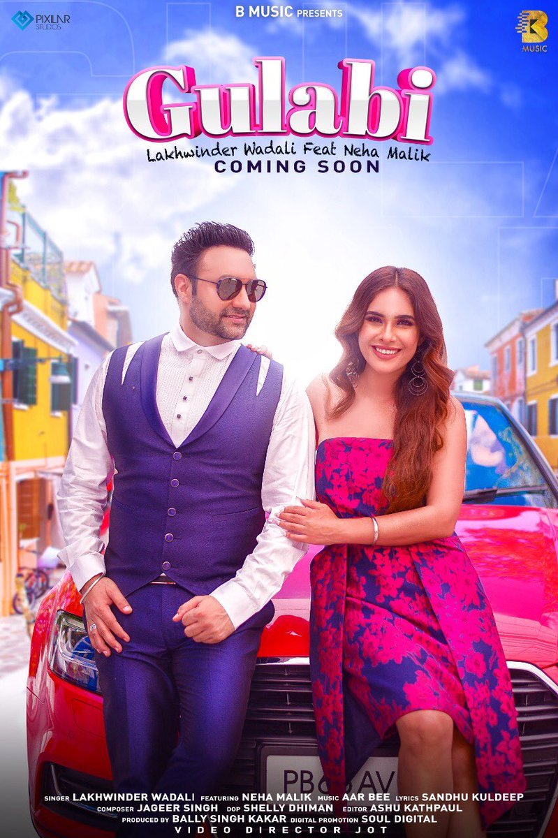 We are bringing romance to your life with 'Gulabi' Colour. Look on the #Gulabi side of life in upcoming October.  #gulabi #newsong #lovesong #romanticsong #spreadlove #lakhwinderwadali https://t.co/QwhEhWQUuj