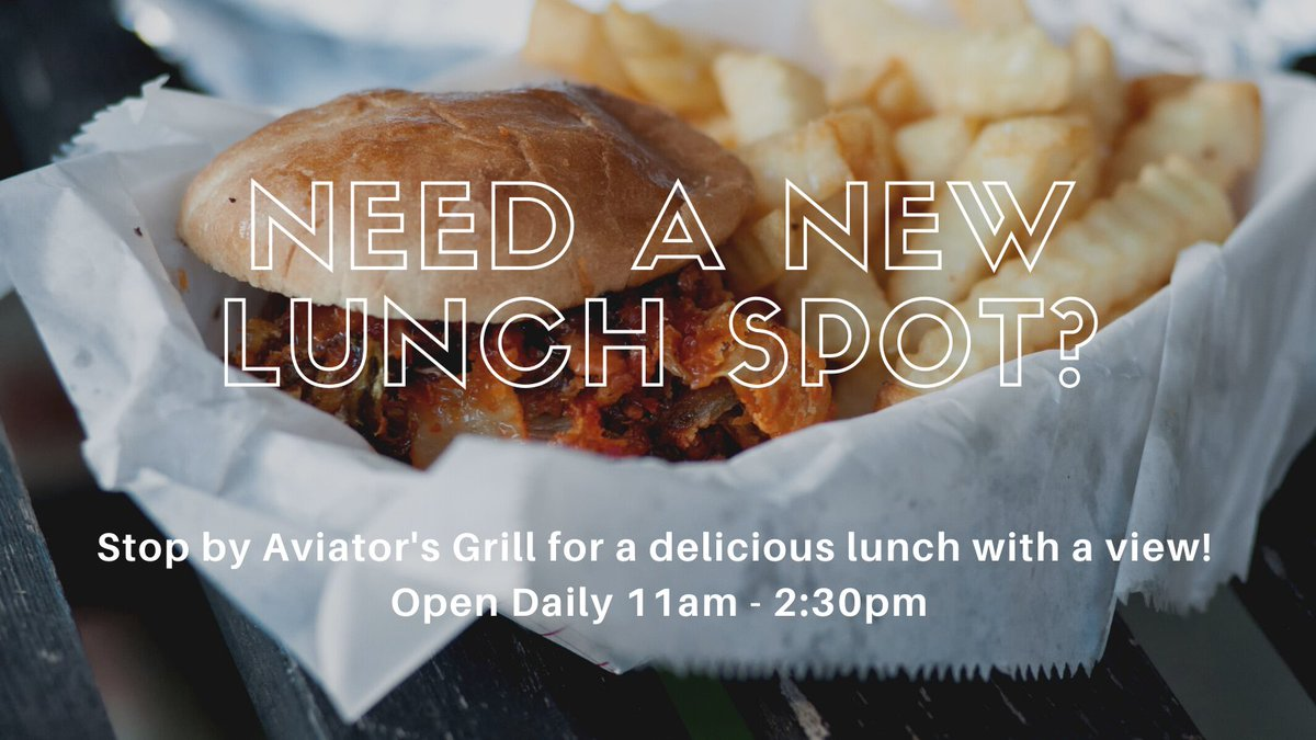 #Lunch #AviatorsGrill #KDWH #GillAviation #TrustedSourceInHouston #GeneralAviation #Aviation #Houston #Texas #FBO #Airplane https://t.co/Pf6CSD6KXO