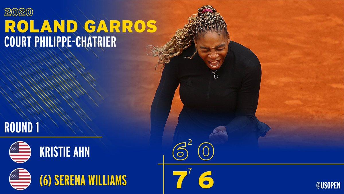 Serena hit the upgrade button in Set 2.  #RolandGarros | @serenawilliams https://t.co/yf6z0fHVqM