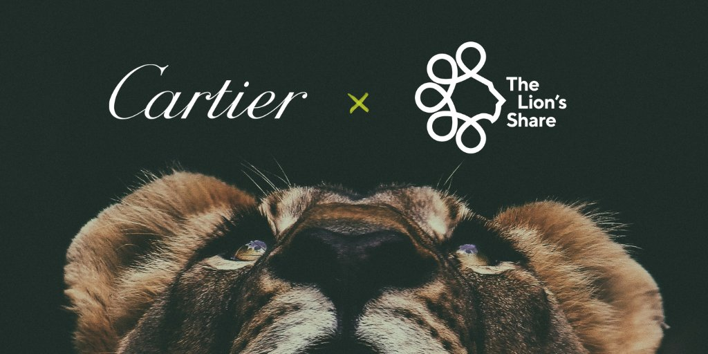 We are honored to announce Cartier's partnership in @LionsShareFund.  Led by the @UNDP, this pioneering initiative will enable us to take a further step in honoring our duty to contribute to the protection of biodiversity worldwide. https://t.co/f9kabaxCOu https://t.co/6xedRrbJKl