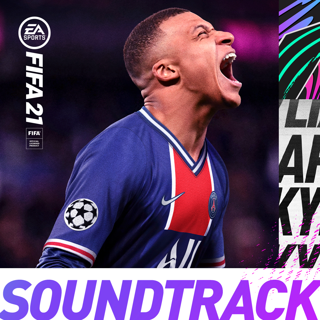 It's time... 🎵   Here is the #FIFA21 soundtrack🔥  Listen to the playlist here 🔊👉 https://t.co/BBiZ7RbUqT https://t.co/Rz78NArYyO