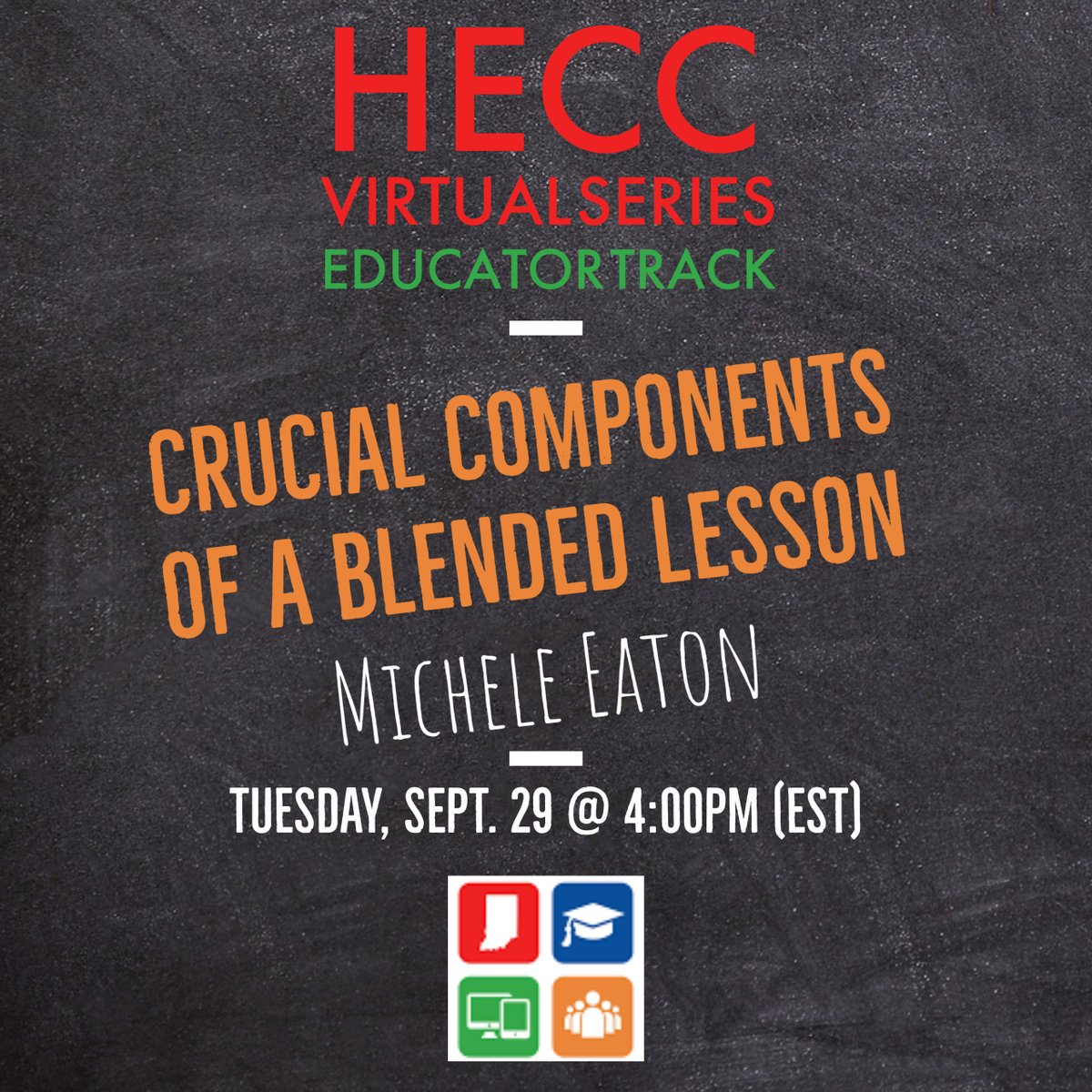 Ready to build on what you have learned about online learning moving from content deliverer to learning architect? Join @micheeaton tomorrow to learn about some key elements of a personalized blended learning experience. Click the link to join tomorrow https://t.co/PzkQ2b7DpJ https://t.co/1UKucF020m