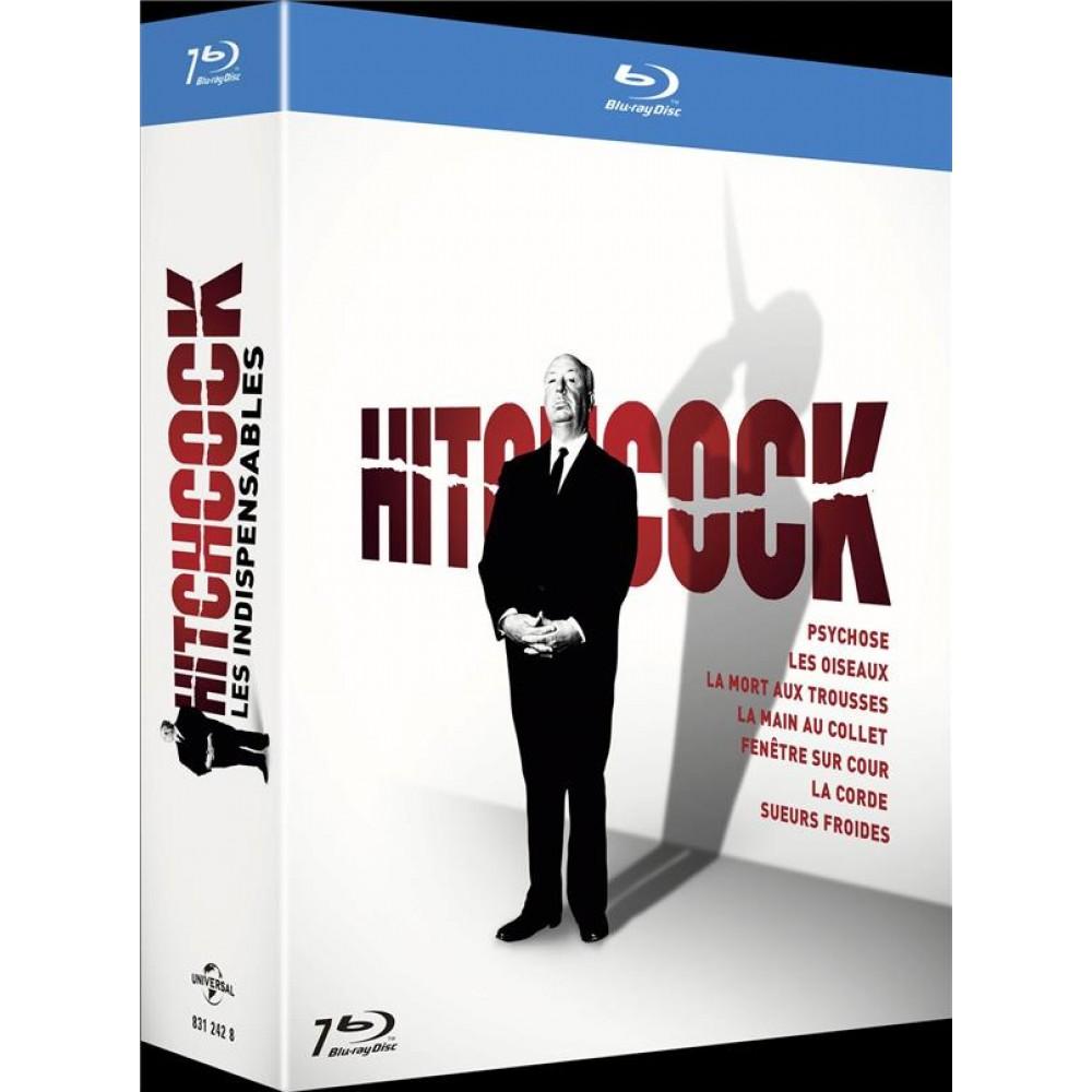 """Je viens de me faire un kiff et j'ai pris """"L'indispensable d'#Hitchcock"""" en Blu-Ray. Parce que je n'ai vu aucun film de ce bon vieux Alfred. Donc on remedie à ça.  7 films. Ca va être bon pour #Halloween ça.  #Halloween2020 https://t.co/XLUxKd3Bba"""