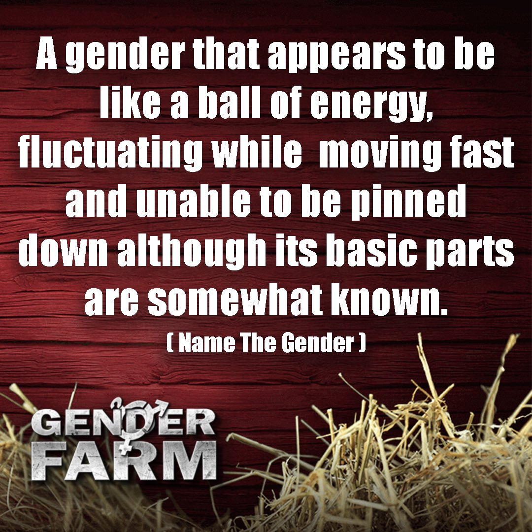 Name the gender: #transgender #trans #lgbt #gay #lgbtq #lesbian #bisexual #queer #pride #nonbinary #ftm #pansexual #loveislove #mtf #genderfluid #asexual #transgirl #transman #bi #transwoman #love #gaypride #transexual #genderqueer #transpride #transboy #genderfarm https://t.co/5I4zORXH4Z