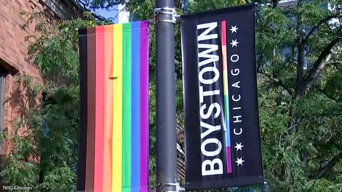 """#Chicago renames historic #LGBTQ+ neighborhood because """"Boystown"""" is no longer #woke enough — even though a minority of those polled approved this name change  https://t.co/smTD581dB6  #Pride https://t.co/mrMsILlqvD"""