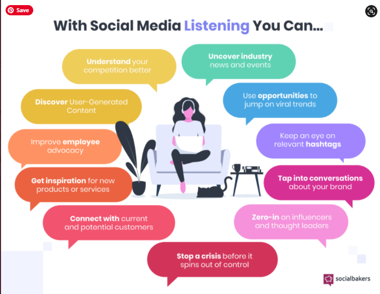 Pay attention to the conversations happening around you on #socialmedia and you'll be able improve your #marketing #strategies   Learn more here: Via  @socialbakers https://t.co/y4EqCqHuV2 https://t.co/je9XAtGBs8