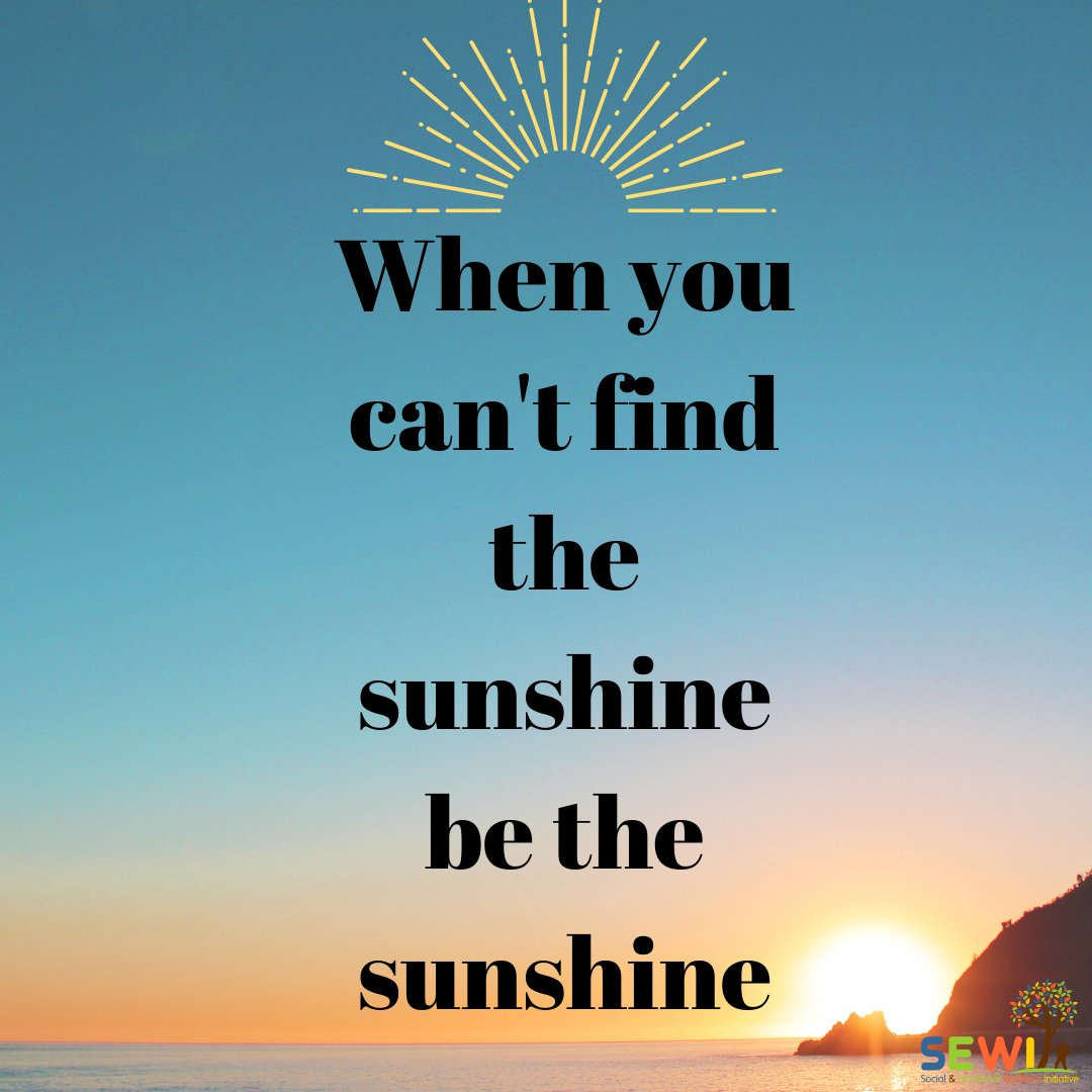 Be the sunshine this week!  . . #MondayMotivation #Monday #SelfCare #MentalHealth #Wellness #SocialEmotionalWellness #emotionalwellness #mentalwellness #selfempowerment #selfcompassion #positivity #wellbeingv#emotionalsupport #support #hope #rise #connect #community https://t.co/clo9ExmNQv
