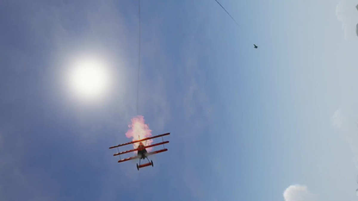 https://t.co/3WdJZ8JEHp #flightsim #flight #gamedev #indiedev #indiegame #unity3d #madewithunity #vr #vrgaming #vrgamers #indiewatch #indiegametrends #follow #Like   I should have brought my parachute. https://t.co/aiVpBLtLgs