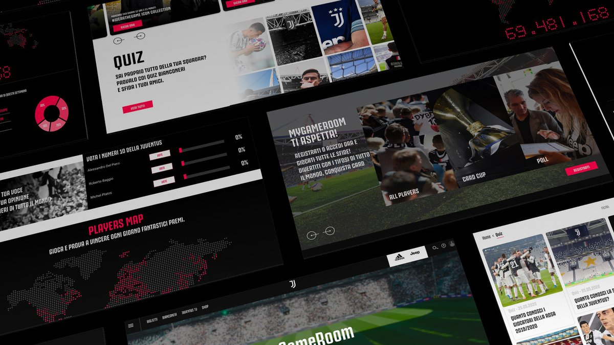 """Welcome to """"MyGameRoom!"""" 💻🙌🏼  From today, there is an entertaining new feature in the Juventus digital ecosystem #OneTouchAwayFromYou! ➡️ https://t.co/TEWqpk6DNs https://t.co/TaTX6wdNAR"""