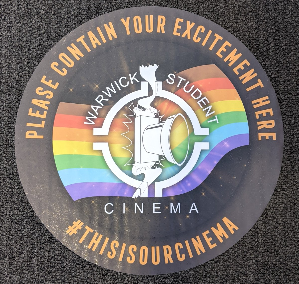 We love the new scheme launched by @bifa_film trying to get people back into struggling independent cinemas. So much that we had to get some personalised social distancing stickers printed. 😛 #thisisourcinema #BLM #Pride https://t.co/fUpn4GL1pJ