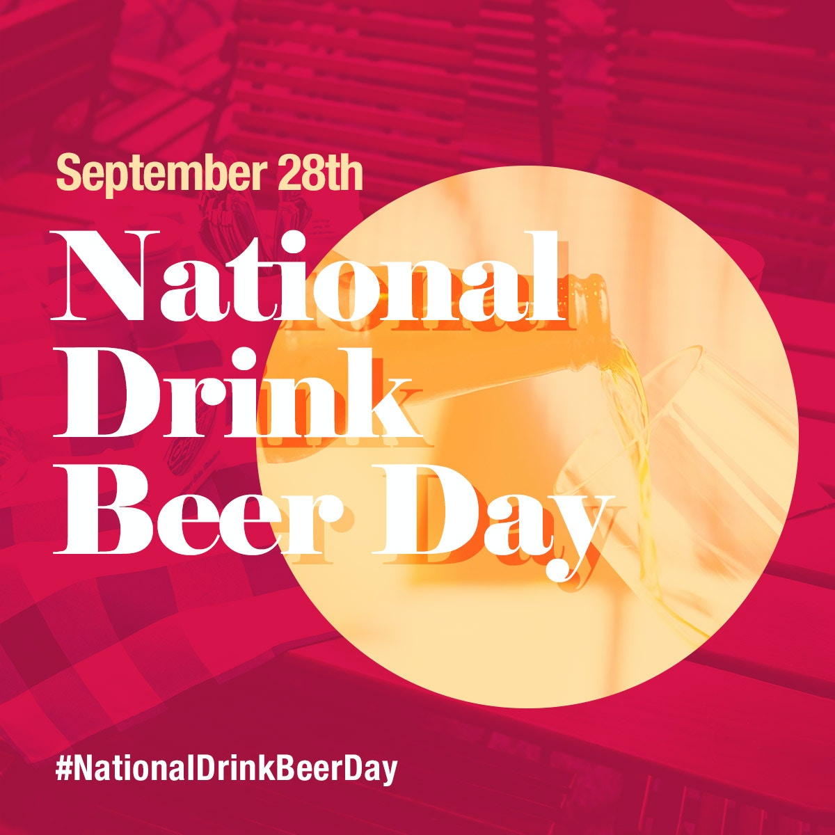 Here's a day that I know some people can stand behind. Lol I'm not much of a beer fan but cheers! 🍻  Do you like beer? What kind?  #nationaldrinkabeerday #drink #bemerry #cheers #national #beer #toast #fan #Flavor #tap #bottle #can #september #haveadrink #drinktothat #relax https://t.co/qC3bosSCpr