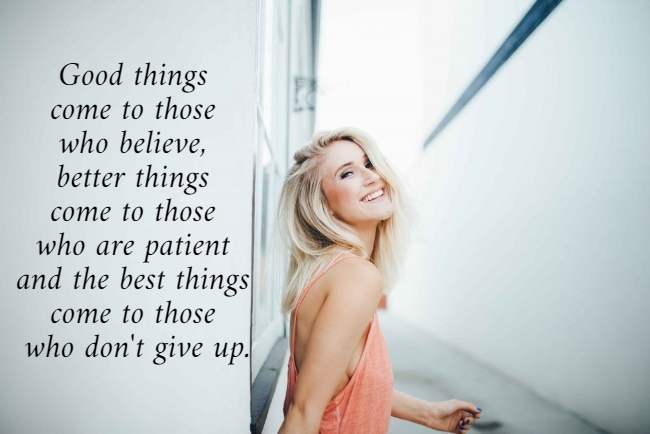 Good things come to those who believe, better things come to those who are patient and the best things come to those who don't give up. #citation #quotes #motivationalquotes #motivation #StayHomeStaySafe #FridayFeeling #fbf #FlashbackFriday #FridayMotivation https://t.co/PQKdTfJxwZ