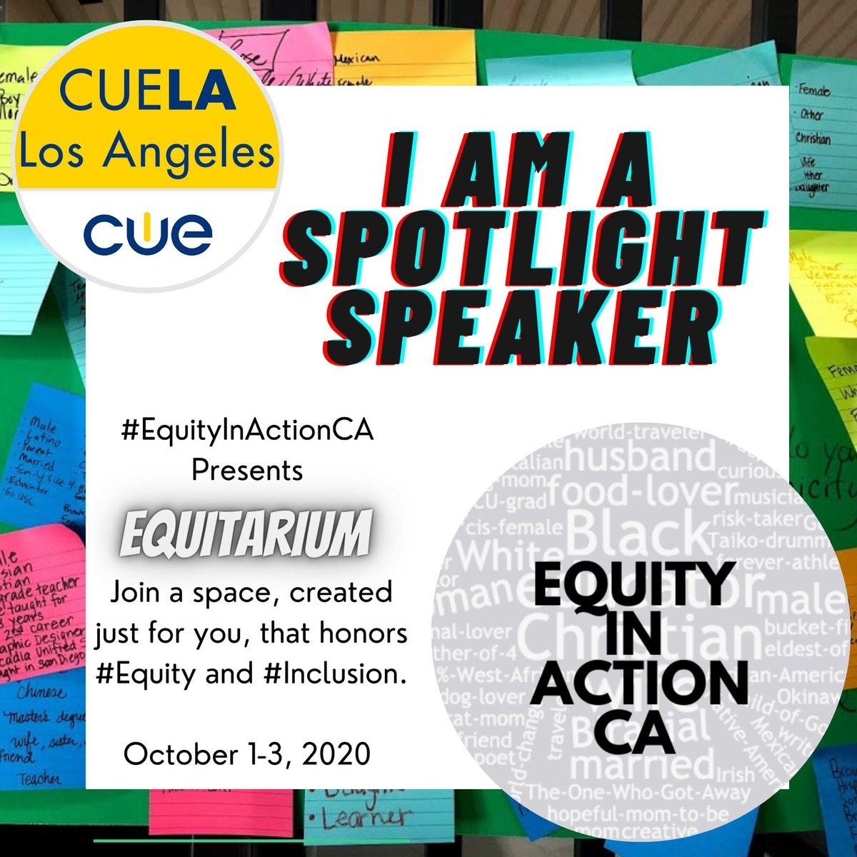 I am excited to share that I Am ✨A ✨Spotlight ✨Speaker ✨for this week's @EquityActionCA  #Equitarium2020.  💫Join me as I share #CRT strategies using @Flipgrid.  💫If you have Q's & are unable to tune in, remember there's always #AskYaritza   ✨👉🏾https://t.co/iRzIPM6JYy https://t.co/jhGMH2JJTE