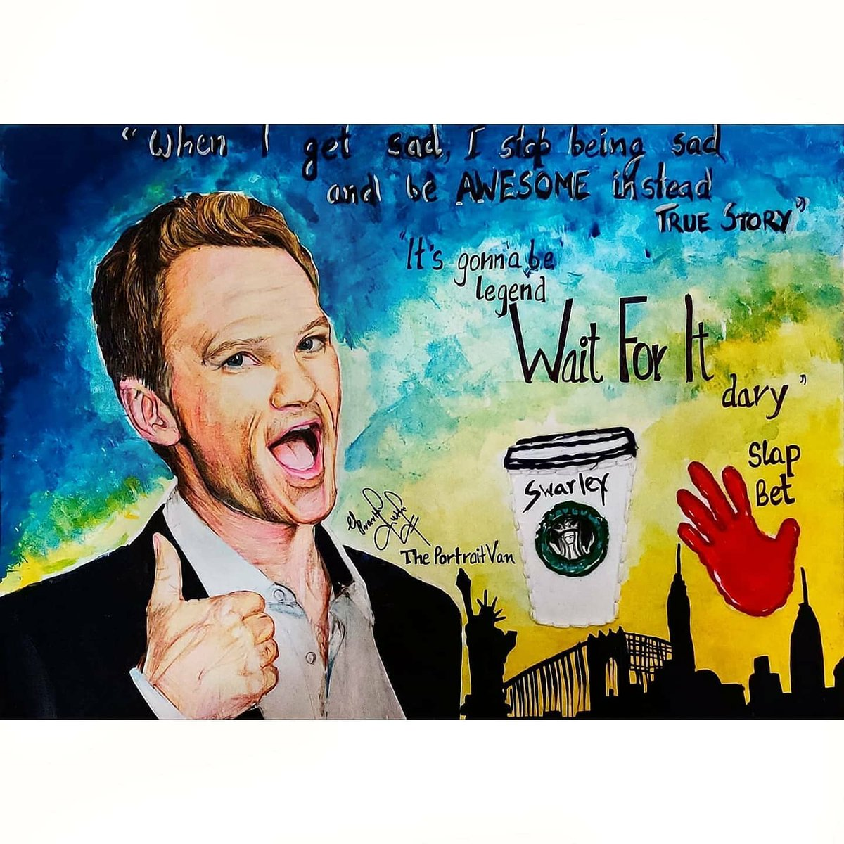 @ActuallyNPH @FinishItPod Hey @ActuallyNPH I have been trying to reach out to you ♥️. First of all congratulations and all the best for magic misfits♥️ Please check this out. Here's a small tribute from my side💙