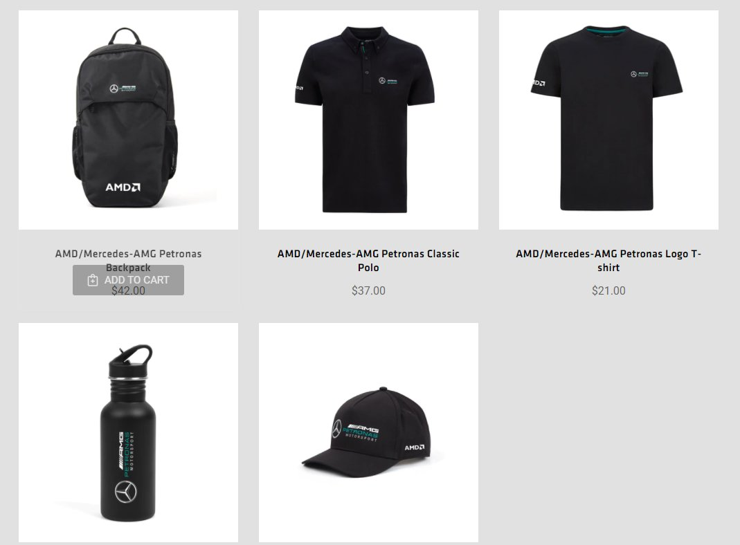 #AMD Fan Store which is not run by AMD but by Boundless Network is selling AMD and #Mercedes #AMG branded stuff now.🤔 https://t.co/OKSrtPY66n