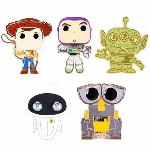 Pixar Large Enamel Funko Pop! Pins coming soon. Woody, Buzz Lightyear, Chase Alien, Wall-E, and Eva.⁠ Order : https://t.co/5o8l5uuuYz⁠ #funkopoppins #enamelpins #pixar #toystory #wallE #funko #funkopop #disney https://t.co/10lPCmlv73 #Nerdvania #NerdLife https://t.co/CbEh5voilE