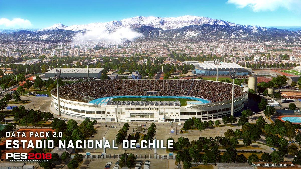 #PES2018  • DLC 4.0 – 1.13 GB • DLC 3.0 – 1.6 GB • DLC 2.0 – 1.94 GB (Emirates Stadium e Estadio Nacional de Chile) https://t.co/duPXRMLyCX