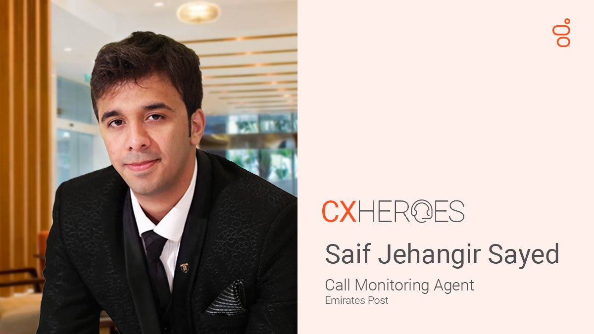 When Saif received a call from a customer in tears, he knew he had to step up.   Here is his #CXHeroes story ♥️ https://t.co/bot2hYK32v  #CXDay2020 #CXDay #CustServ https://t.co/1VPCrXkrLt