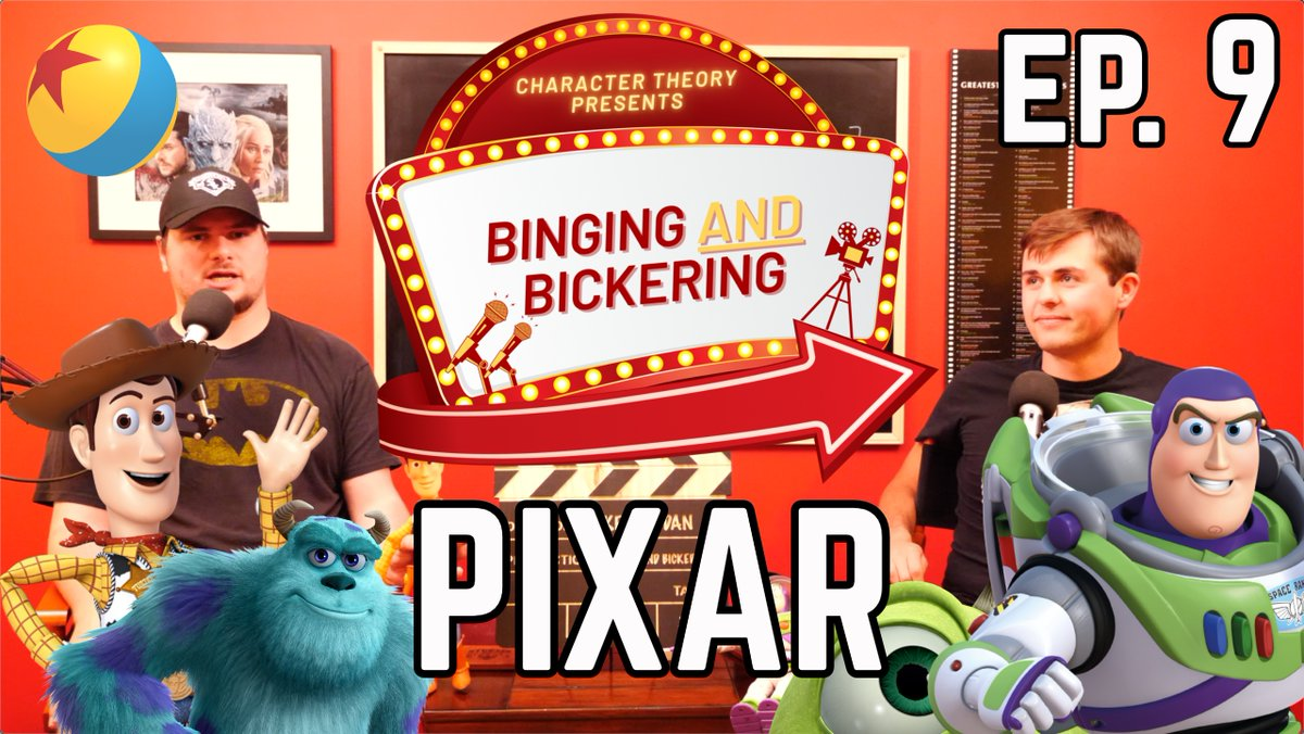 Check out the latest #BingingandBickering episode from me and @MStuglis! This week, we discuss #Pixar and I may or may not rant about Toy Story 4...  Please like, comment and subscribe! Don't forget to listen to our audio version on @ApplePodcasts   Video: https://t.co/ZD3BGPQBMI https://t.co/zD4zOzxYDm