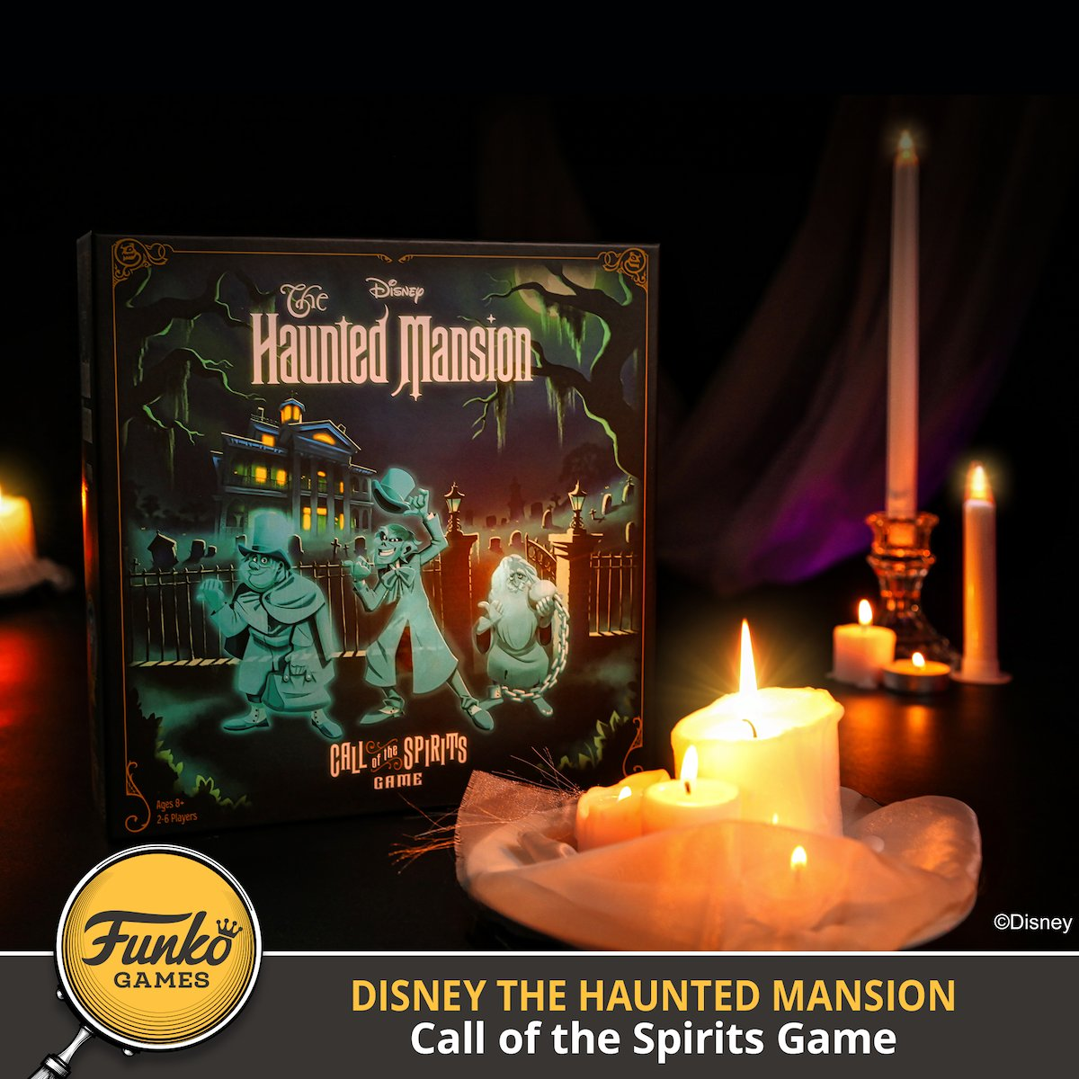 #Disney #TheHauntedMansion – Call of the Spirits Game will Materialize shortly.    Pre-orders available now! https://t.co/wNrk4KOBih  W/ @Disney #DisneyParksHauntedMansion #FunkoGames https://t.co/jm2uOjVt1D