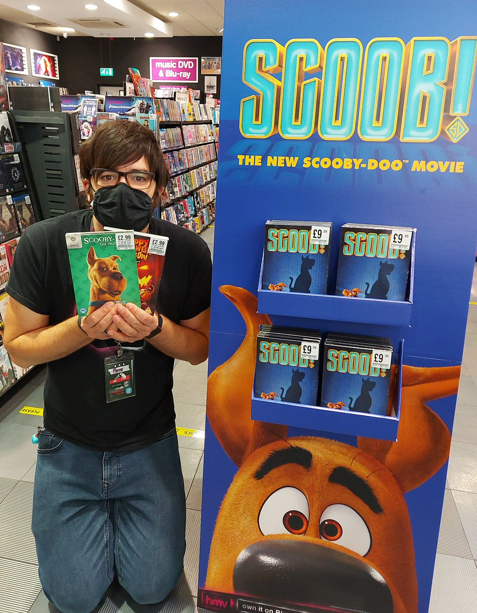 #scoobmovie plus get these 2 scooby dvds half price when bough with anything in store