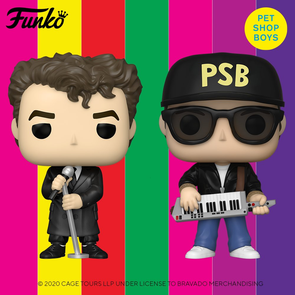 Pet Shop Boys are delighted to announce that @OriginalFunko will be releasing two vinyl figures of Neil and Chris on 12th February, 2021. Each collectible doll is now available to pre-order at the link below.   https://t.co/Oz735ESSuj https://t.co/5WAQHwlfND