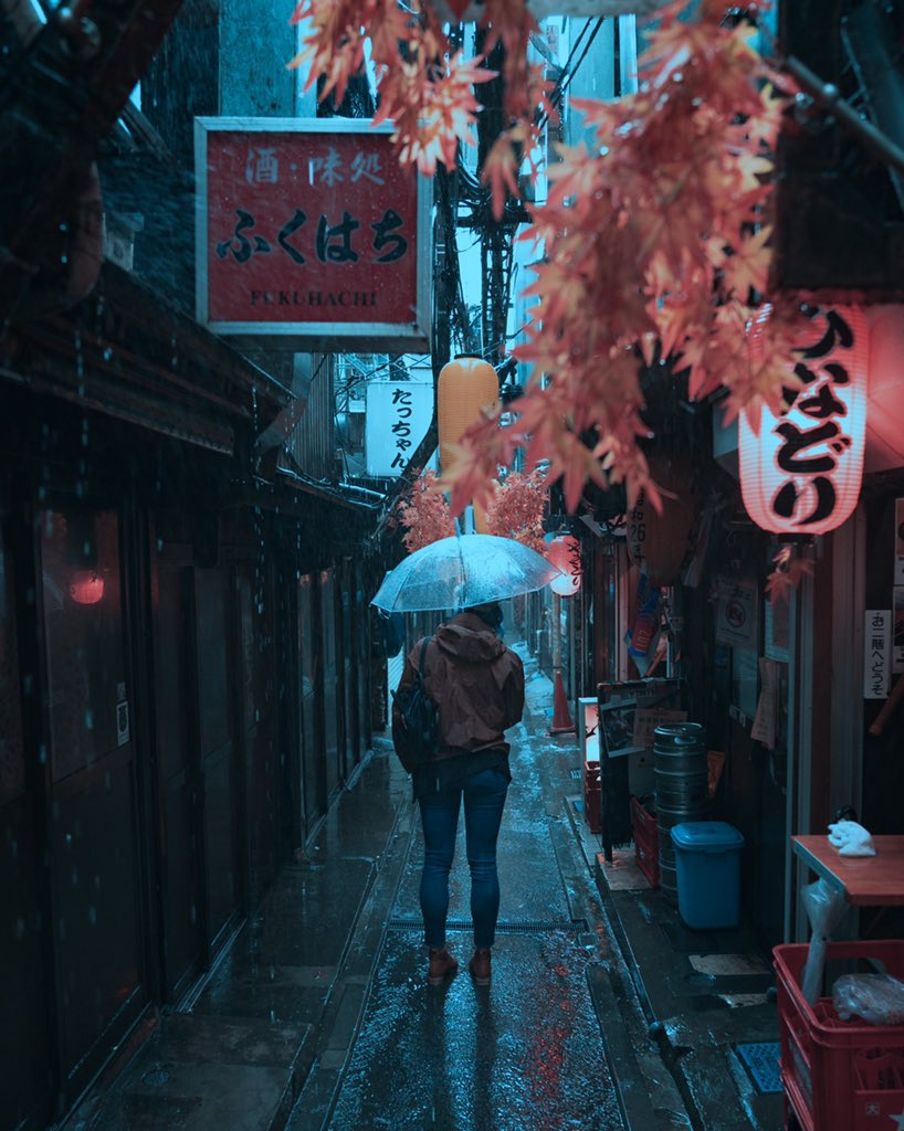 RT @_tyedied: When the rain pours in Tokyo https://t.co/5i387EntOo