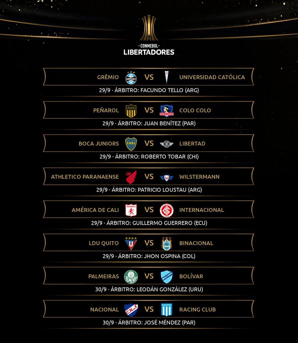 🥰 Mañana comienza una nueva semana de #Libertadores con 16 encuentros por disputarse entre #Martes y #Jueves.  ⚠️ En esta #Jornada5 muchos equipos podrían cerrar su clasificación a #Octavos. https://t.co/xWLhYebaFd