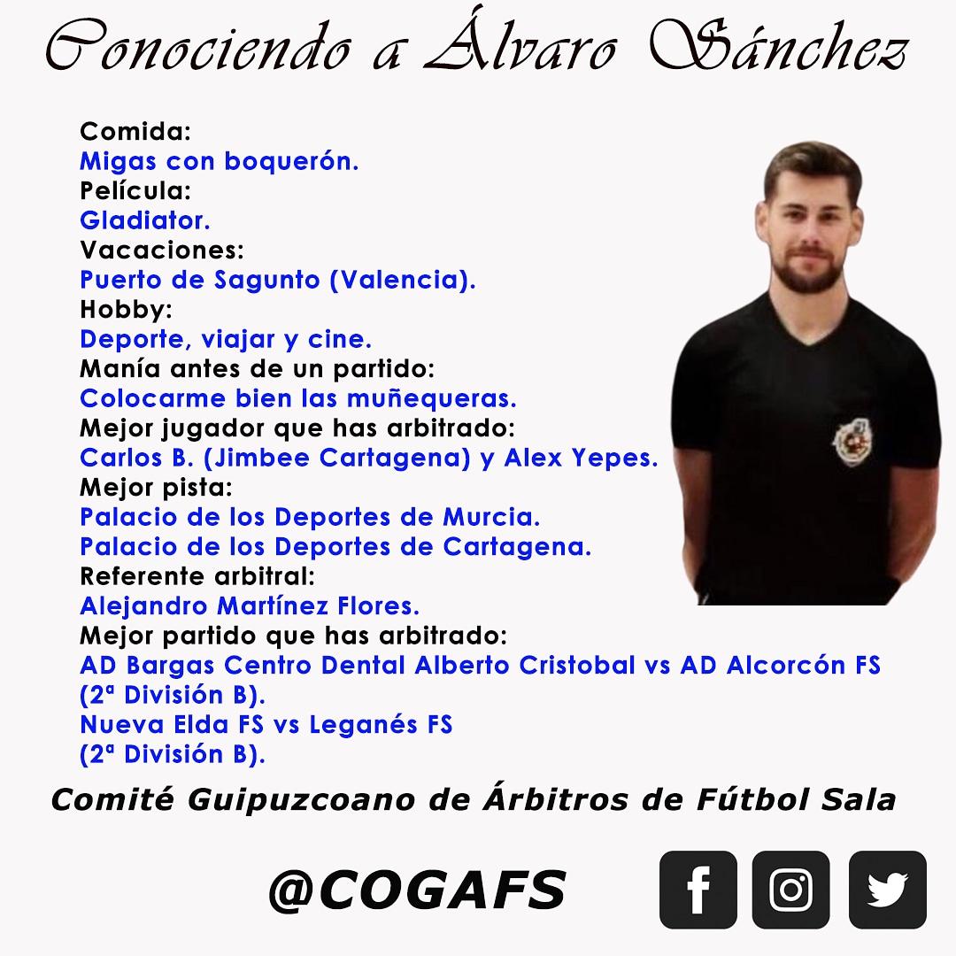 Capítulo 151 | Conociendo a Álvaro Sánchez.  #futsal #aretofutbola #referee #futsalreferee #ctafs #arbitro #murcia #quenotelocuenten #cogafs https://t.co/2BJAYfxWD9
